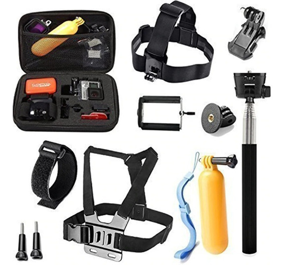 Kit Go Pro Hero Black 5 6 7 Gopro 2018 Gopro Session Editon