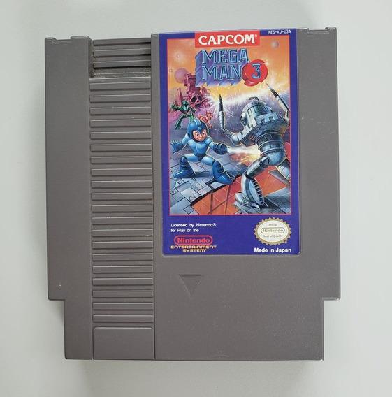 Mega Man 3 Original Nes Nintendinho