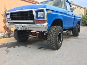 Excelente Ford 1979 F-150, 4x4, Unica En Su Estilo