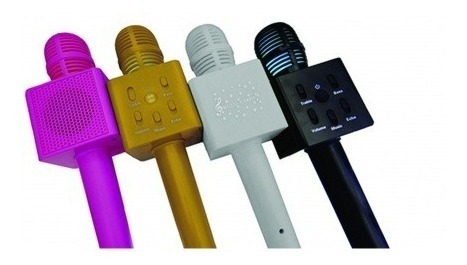 Micrófono Con Parlante Amplificador - Bluetooth - Karaoke