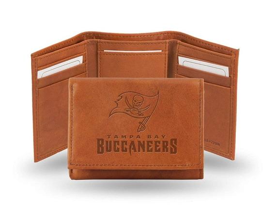 Nfl Cartera Cuero Genuino Bucaneros De Tampa Bay /tampa Bay Buccaneers