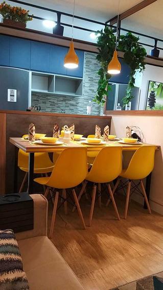 2 Dorms, Terraço Gourmet, Lazer Completo R$ 650,00 Por Mês