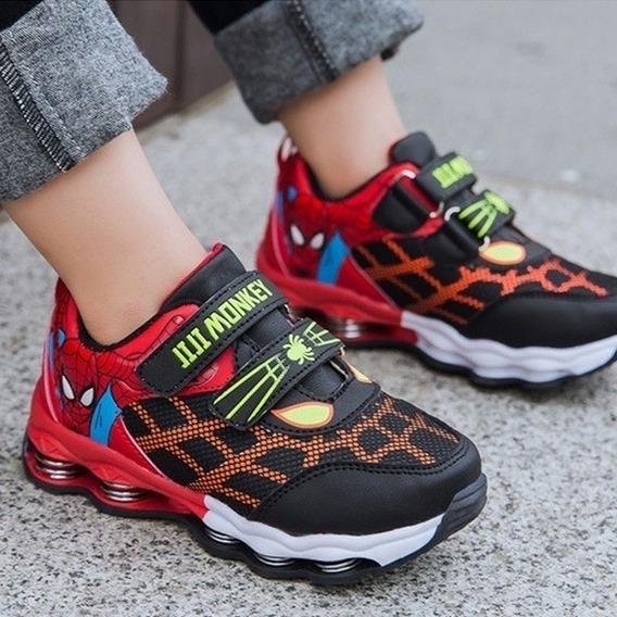 Zapatos Deportivos Spiderman Talla 26