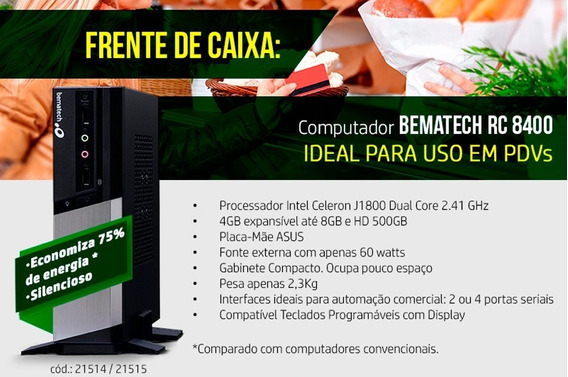 Pdv Bematech Completo - Rc 8400 + Mp 4200 + Sat Rb 2000