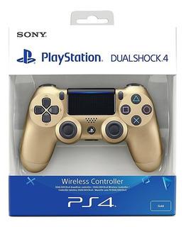 Control Ps4 Dualshock 4 Gold. Dorado + Obseqio Grips Sellado