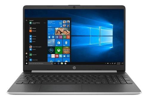 "Imagen 1 de 5 de Notebook HP 15-DY2056MS plata natural táctil 15.6"", Intel Core i5 1135G7  12GB de RAM 256GB SSD, Intel Iris Xe Graphics G7 80EUs 1920x1080px Windows 10 Home"