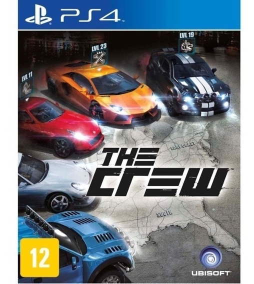 The Crew - Ps4 - Mídia Física