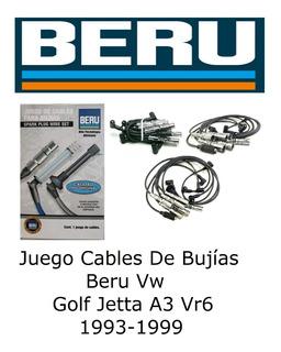 Juego Cables De Bujías Beru Vw Golf Jetta A3 Vr6 1993-1999