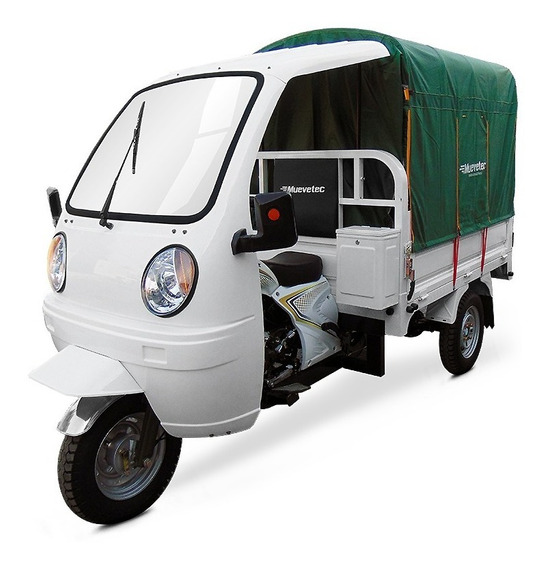Motocarro Gasolina Muevetec 2020 Rex Pick Up Con Lona 200cc