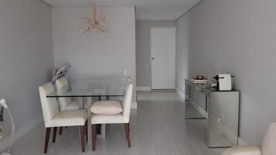 Apartamento Em Jardim Ampliação, São Paulo/sp De 74m² 3 Quartos À Venda Por R$ 370.000,00 - Ap252330
