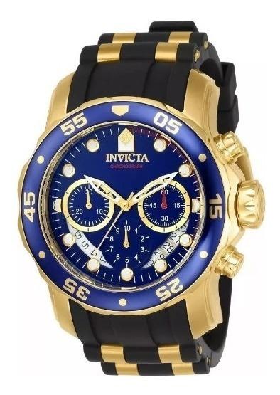 Relógio Rdf4563 Invicta Pro Diver 6983 Pulseira De Silicone
