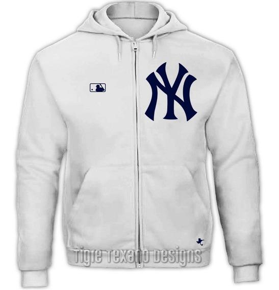 Sudadera Cierre Yankees New York Mod 01 Tigre Texano Designs