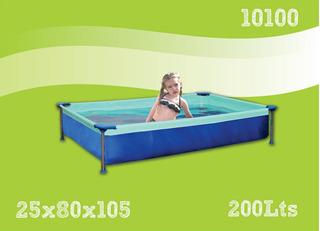 Pileta De Lona Olimpia Modelo Infantil 0.80 X 1.05m