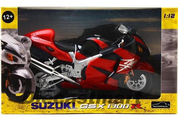 Moto Suzuki Gsx 1300 R Escala 1:12 Hayabusa !!!