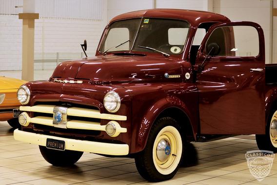 Fargo Pick Up 1951 51 - Original - Premium - Placa Preta