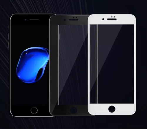 Film Glass Vidrio Templado iPhone 6/6s/7/plus 3d Full Curvo