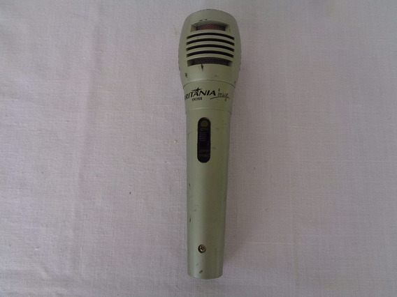 Microfone Home Britânia Image Vk968