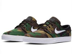 Tênis Nike Zoom Sb Stefan Janoski Camo Military