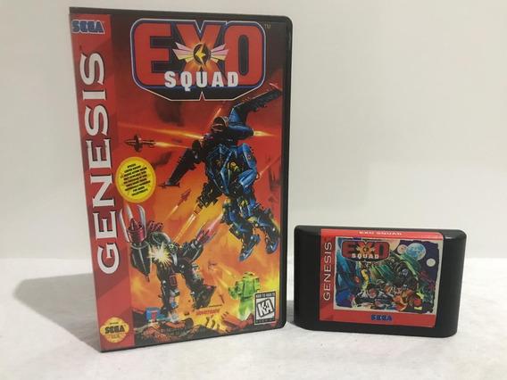 Exo Squad Sega Mega Drive Original