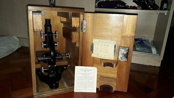 Microscópio Antigo Ernst Leitz