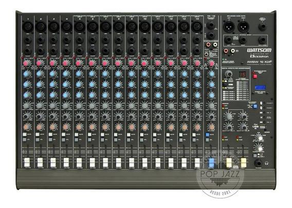 Audio Mixer Ciclotron Wattsom Ambw 16 Xdf - Frete Grátis