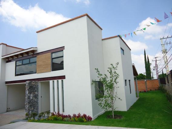 Renta Exclusiva Residencia En Privada Colinas Del Bosque