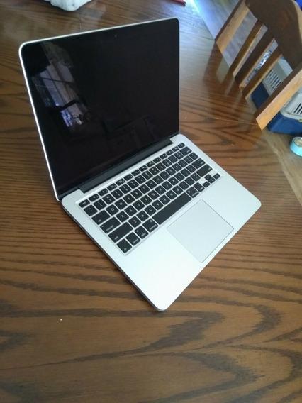 Apple Macbook Pro A1502 13.3 Retina I5 2.7ghz 8gb Ssd 512gb