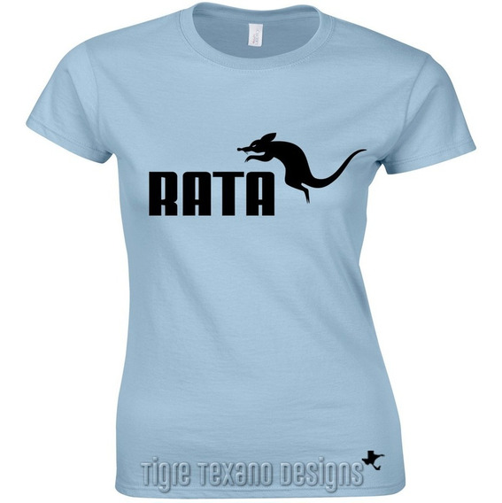 Playera Logo Rata, Fun, Divertida By Tigre Texano Designs