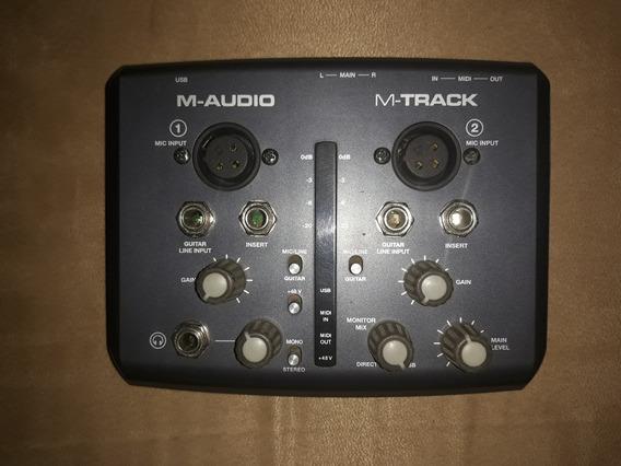 Vendo O Cambio Interfaz M-audio M-track 2 Canales