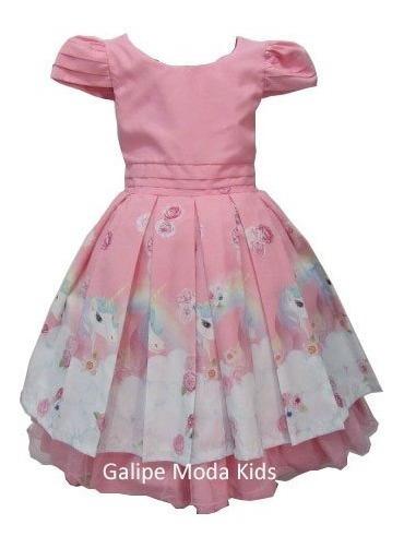 Vestido Festa Infantil Luxo Tamanho 12 Vestidos Para