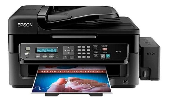Impressora Multifuncional Epson L555 Jato De Tinta
