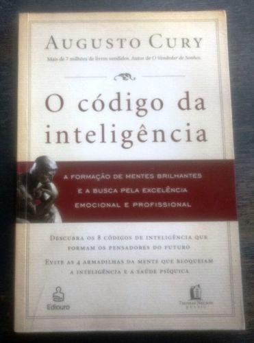 Livro O Código Da Inteligência Augusto Cury