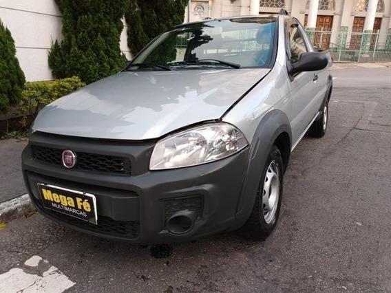 Fiat Strada Working 1.4 Flex Básico 2014 Prata