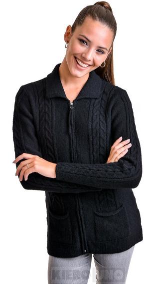 Cárdigan Mujer Campera De Lana Sweater Saco - Kieronuo
