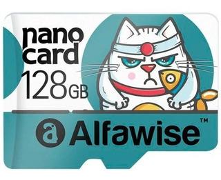 Cartão De Memória Micro Sd Alfawise 128gb Sdxc, 95/mb