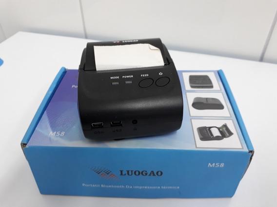 Vendo Mini Impressora Termica Modelo M 58 Cor Preto