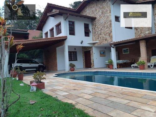 Casa Com 4 Dormitórios À Venda, 300 M² Por R$ 1.700.000,00 - Condomínio Marambaia - Vinhedo/sp - Ca2520