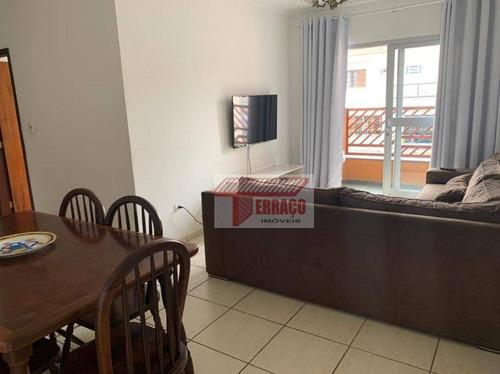 Apartamento Com 3 Dormitórios À Venda, 86 M² Por R$ 395.000,00 - Vila Cecília Maria - Santo André/sp - Ap2802