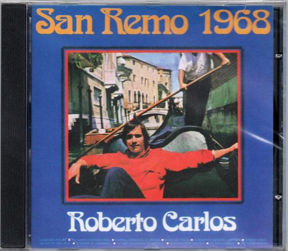 Cd Roberto Carlos San Remo 1968 Novo Lacrado Original
