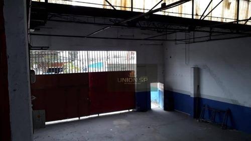 Imagem 1 de 3 de Galpão Para Alugar, 900 M² Por R$ 18.000,00 - Santo Amaro - São Paulo/sp - Ga0239