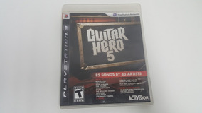Guitar Hero 5 - Ps3 - Original - Mídia Física