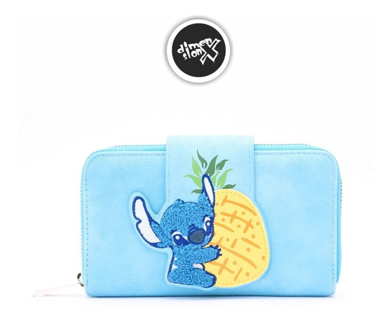 Cartera Mujer Stitch Pinneapple Loungefly X Disney Oficial