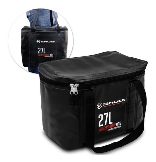 Bolsa Térmica 27 L Shutt Waterproof Bag Impermeável Preta