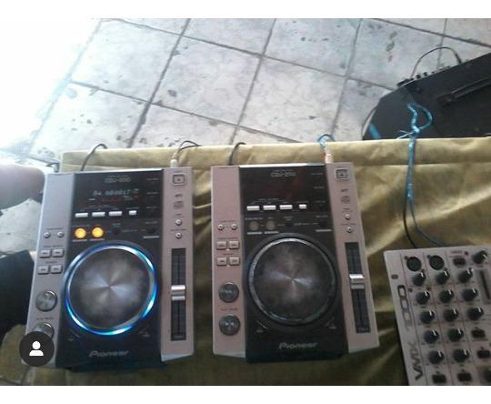 Cdj200 + Mix Vxm 1000