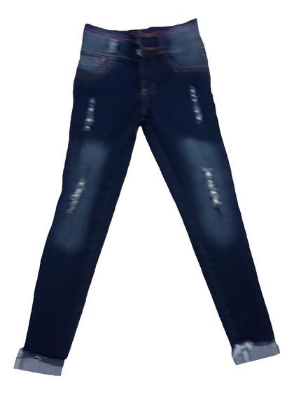 Pantalon Jeans De Niña Strech Desde Talla 4 A La 14