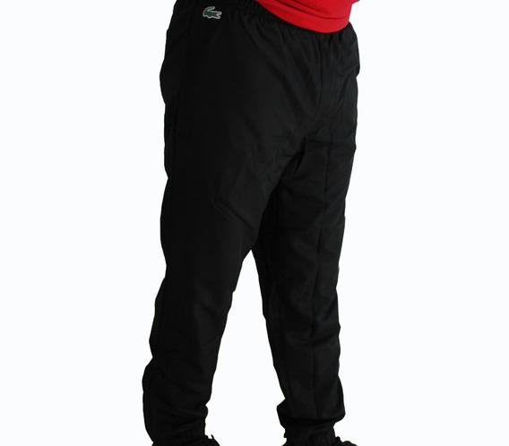 Pants Negro Lacoste Hombre Joggers Deportivo Gym Original