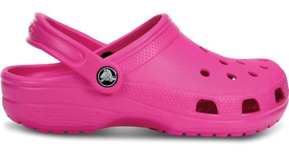 Crocs Originales Classic Rosa Mujer