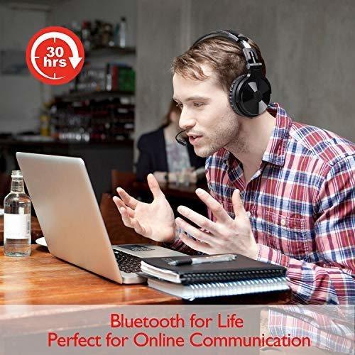 Para Pc Oneodio Auricular Bluetooth Microfono
