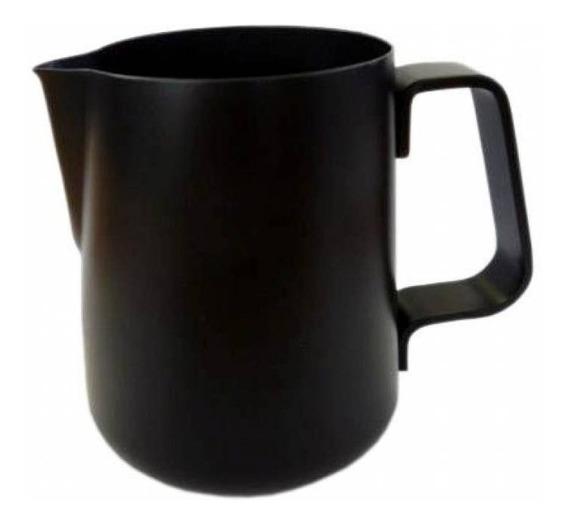 Barista Pitcher Jarra Negra Arte Latte 12 Onzas Café