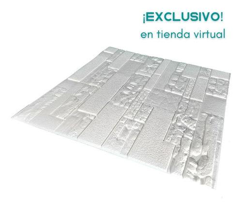 Panel Decorativo Adhesivo - Interiores- Panel 3d Tipo Piedra
